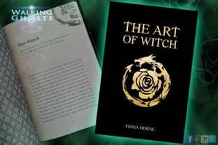 """The Art of Witch"" Fiona Horne,  Illustrated Book Pagan Wicca Witchcraft Occult"